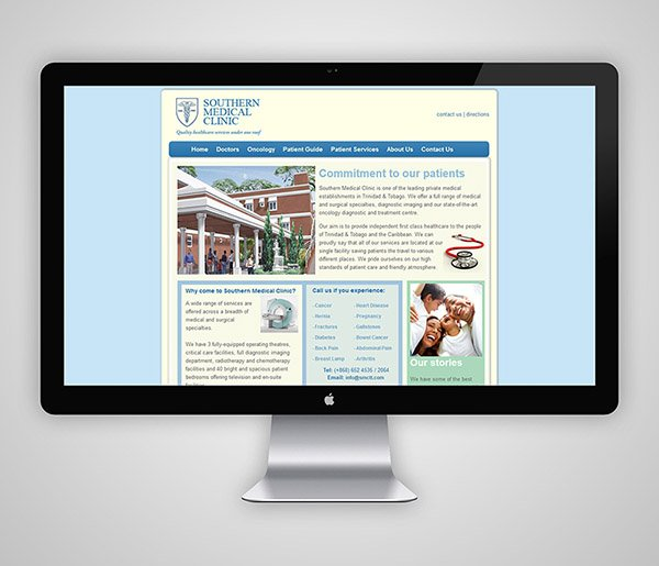 Southern Medical Clinic Website