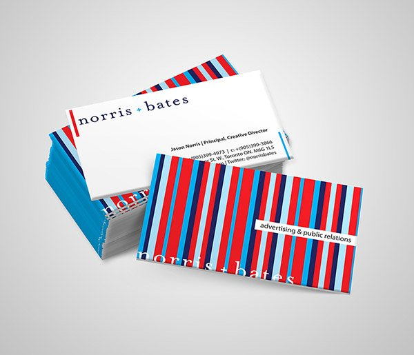 Norris Bates Business Cards