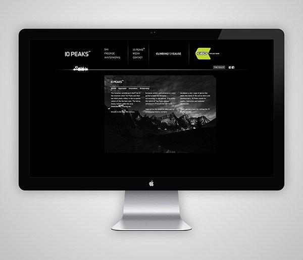 10 Peaks Website