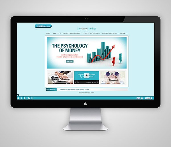 Business MyMoneyMindset Website