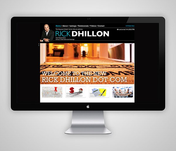 Rick Dhillon Website