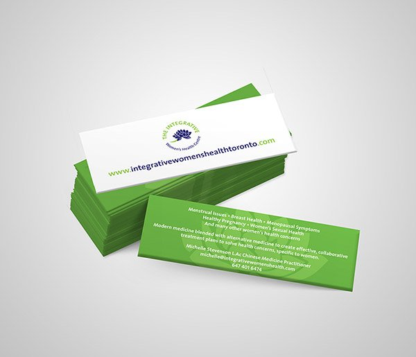 Integrative Womens Health Toronto Business Cards