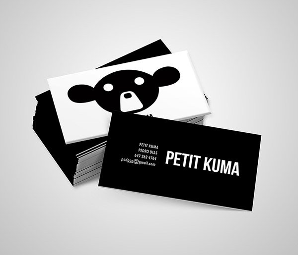 Petit Kuma Business Cards
